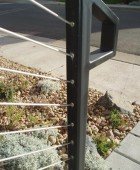 Front Step Cable Railing