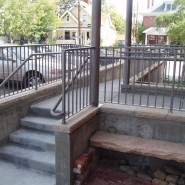 Functional and Inviting Handicap Ramp
