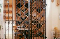 Custom Wine Cellar Gate