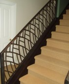 Stair Railing with a Contemporary Flare