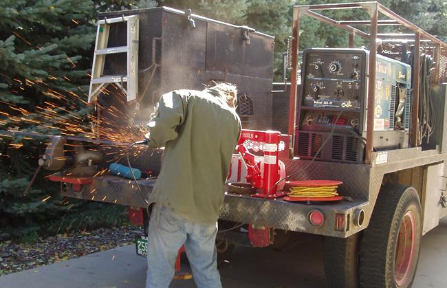 McLean Forge Boulder Portable Welding Services