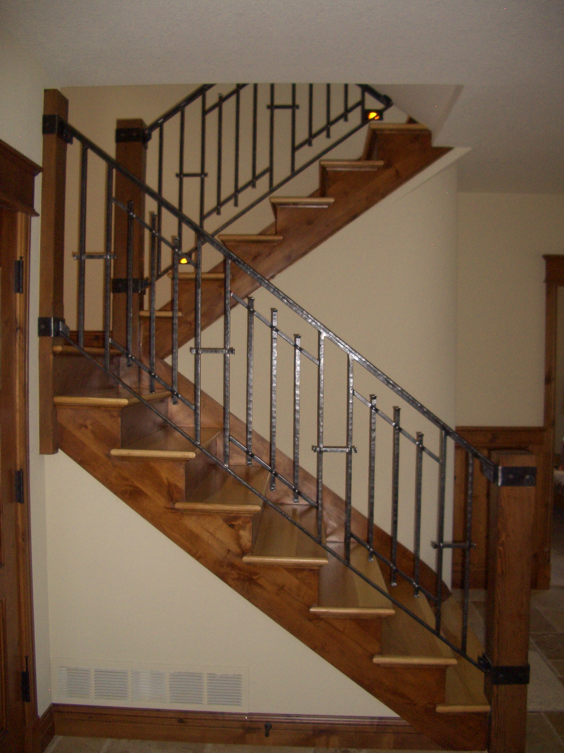 Mclean Forge And Welding Custom Indoor Railing Boulder Co