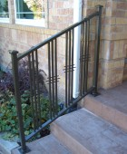 Front Stoop railing
