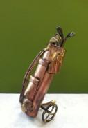 copper golf bag