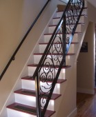 Old World French Scroll with matching handrail