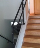 Classically Simple Cable Railing with Handrail