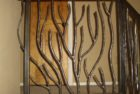 Organic Branch Design Hand Forged Railing