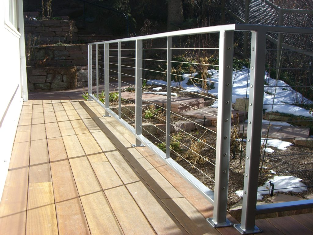 custom cable railings