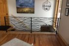 Abstract Wave Railing