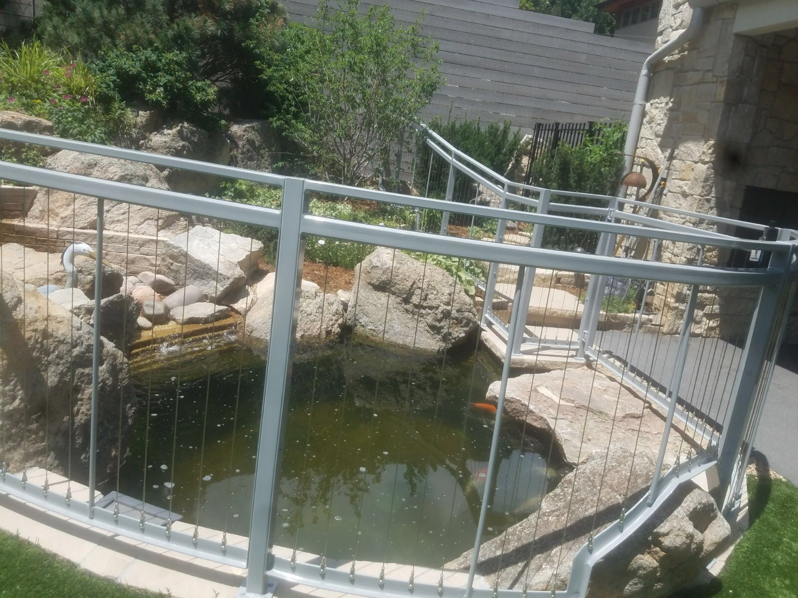 Pond Railing